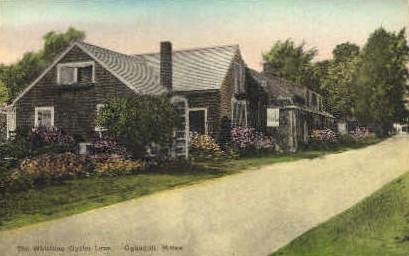 The Whistling Oyster Lane - Ogunquit, Maine ME Postcard