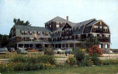 The Sparhawk Hotel - Ogunquit, Maine ME Postcard