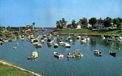 Boats - Ogunquit, Maine ME Postcard