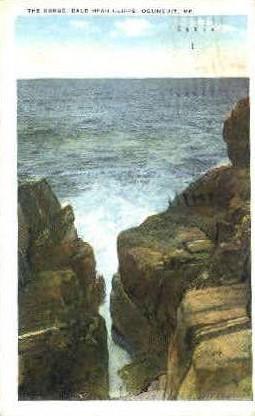 The Gorge, Bald Head Cliffs - Ogunquit, Maine ME Postcard