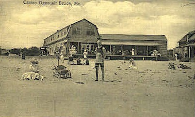 Casino Ogunquit Beach - Maine ME Postcard
