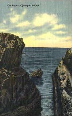 The Flume - Ogunquit, Maine ME Postcard