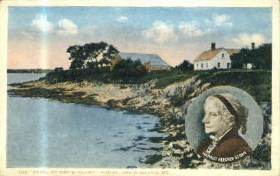 The Pearl of Orr's Island House - Maine ME Postcard