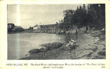 The Pearl House - Orr's Island, Maine ME Postcard