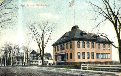 High School - Orono, Maine ME Postcard