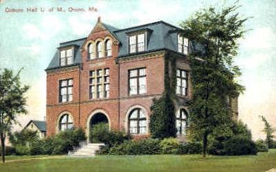 Coburn Hall, University of Maine - Orono Postcard