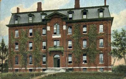 Oak Hall, University of Maine - Orono Postcard