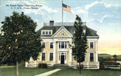 Phi Kappa Sigma, U of Maine - Orono Postcard