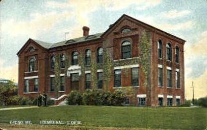 Holmes Hall, University of Maine - Orono Postcard