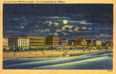 Ocean Front Hotel - Old Orchard Beach, Maine ME Postcard