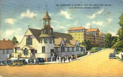 St. Margaret's Church - Old Orchard Beach, Maine ME Postcard