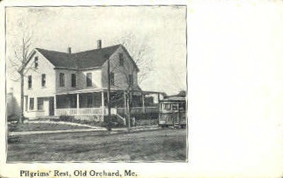 Pilgrims' Rest - Old Orchard Beach, Maine ME Postcard