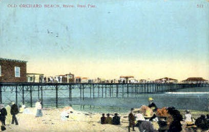 Steel Pier - Old Orchard Beach, Maine ME Postcard