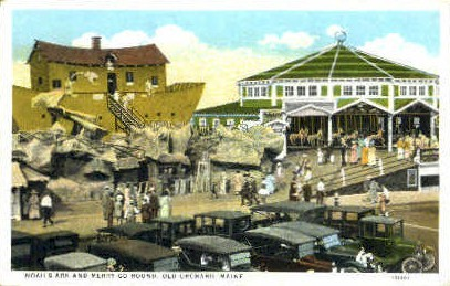 Noah's Ark & Merry-Go Round - Old Orchard Beach, Maine ME Postcard