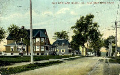 Town House - Old Orchard Beach, Maine ME Postcard