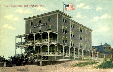 Hotel Lafayette - Old Orchard Beach, Maine ME Postcard