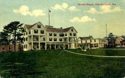 Ocean House - Old Orchard Beach, Maine ME Postcard