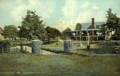 Hazelden - Old Orchard Beach, Maine ME Postcard