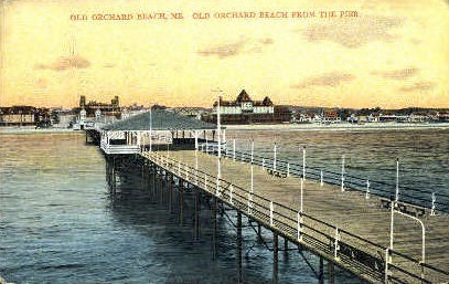 Old Orchard Beach - Maine ME Postcard