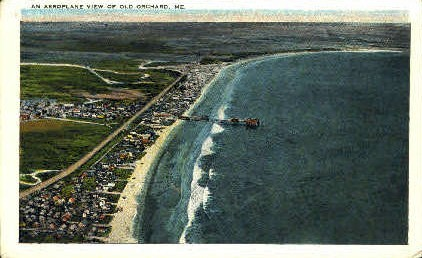 Old Orchard Beach, Maine, ME Postcard