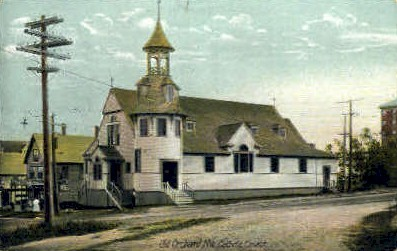 Catholic Church - Old Orchard Beach, Maine ME Postcard