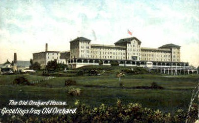 The Old Orchard House - Maine ME Postcard