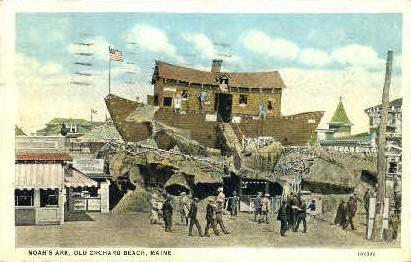 Noah's Ark - Old Orchard Beach, Maine ME Postcard