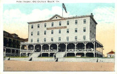 Hotel Vesper - Old Orchard Beach, Maine ME Postcard