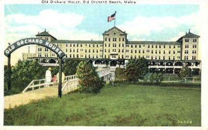 Old Orchard House - Old Orchard Beach, Maine ME Postcard