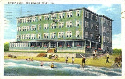 Copley Hotel - Old Orchard Beach, Maine ME Postcard