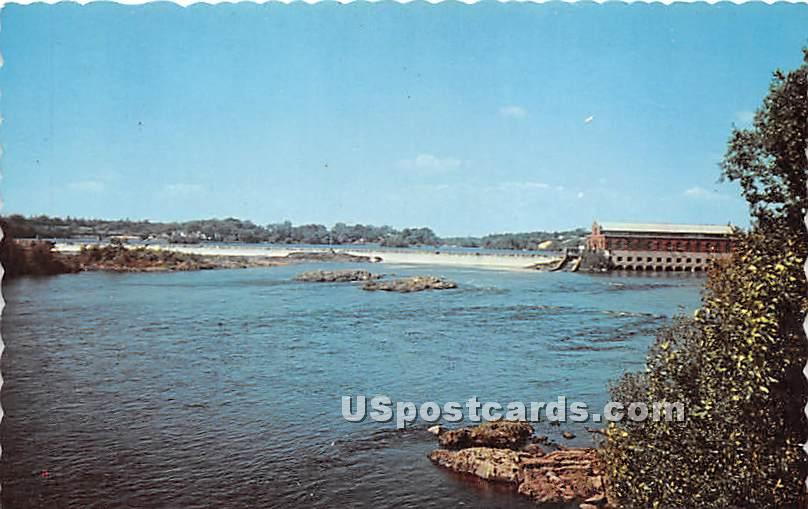 Indian Island - Old Town, Maine ME Postcard