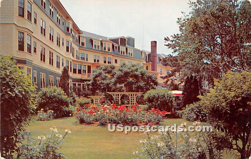 Garden of the Lookout Hotel - Ogunquit, Maine ME Postcard