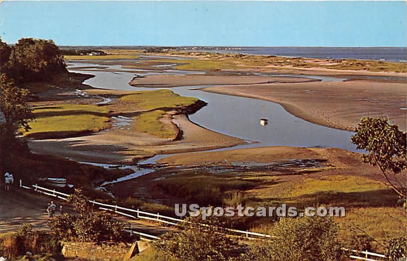 Low Tide Pattern - Ogunquit, Maine ME Postcard