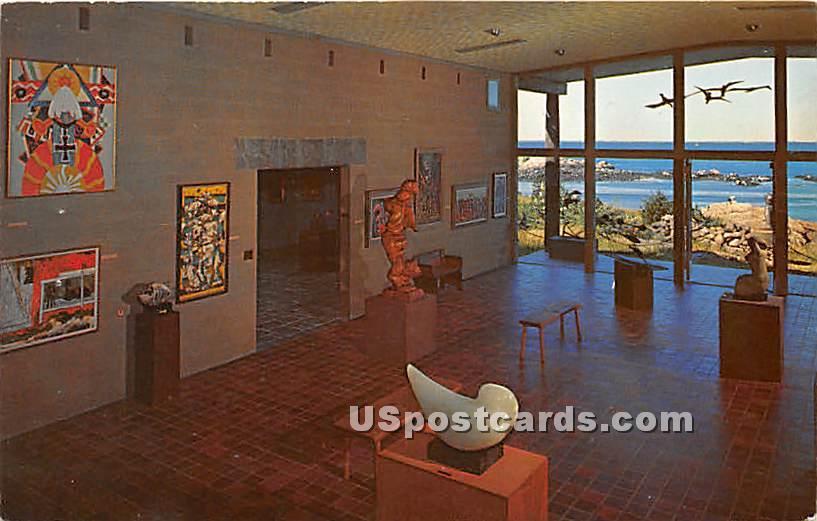 The Sculpture Court Museum of Art - Ogunquit, Maine ME Postcard
