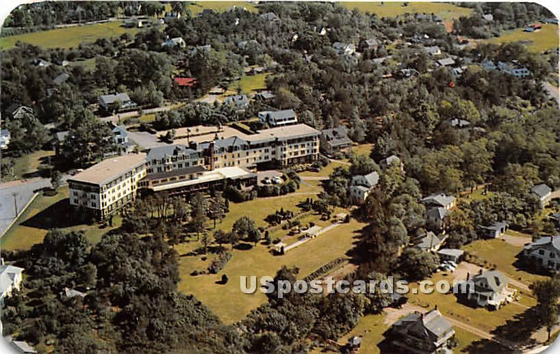 The Lookout Hotel - Ogunquit, Maine ME Postcard