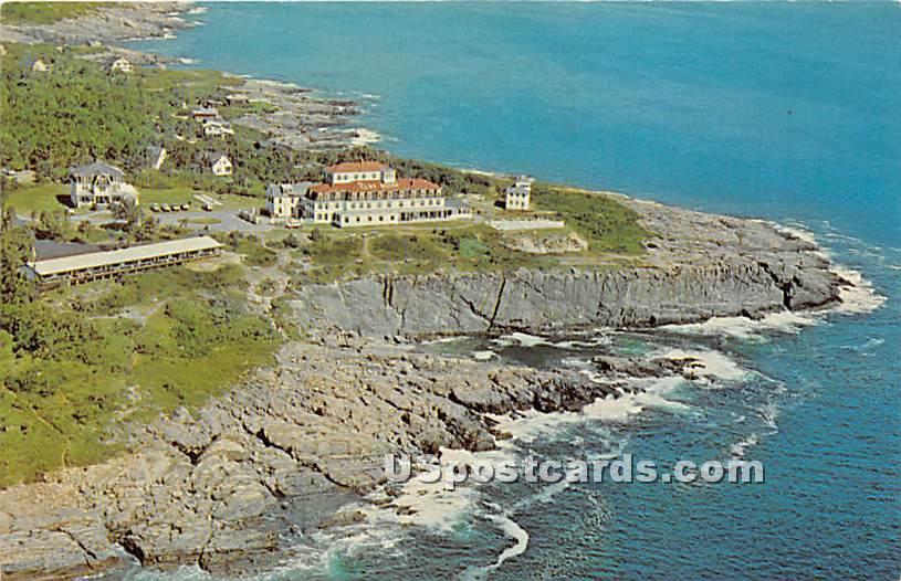 The Cliff House & Motels atop Bald Head Cliff - Ogunquit, Maine ME Postcard