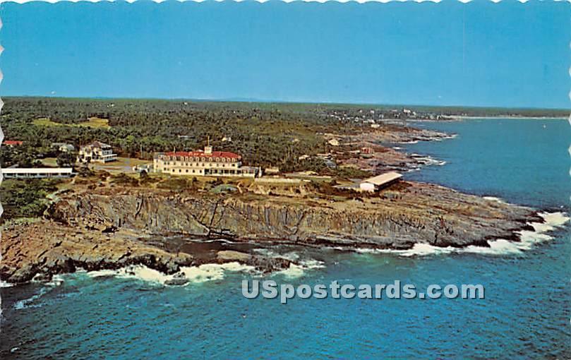 Bald Head Cliffs - Ogunquit, Maine ME Postcard