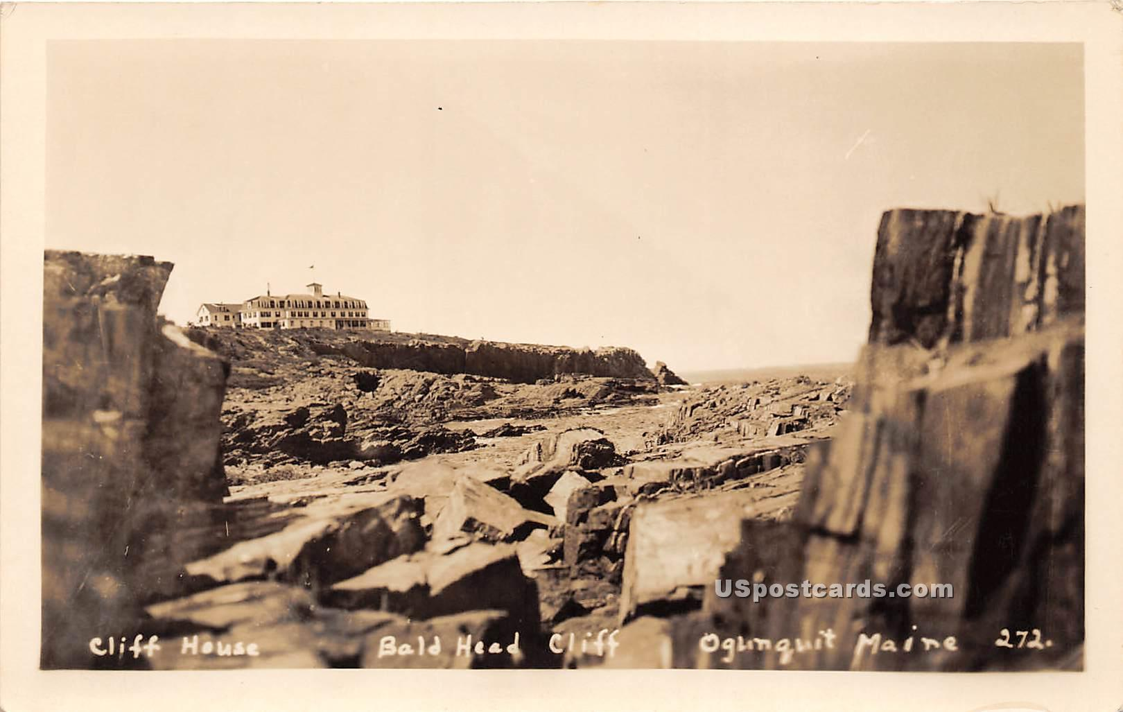 Cliff House - Ogunquit, Maine ME Postcard