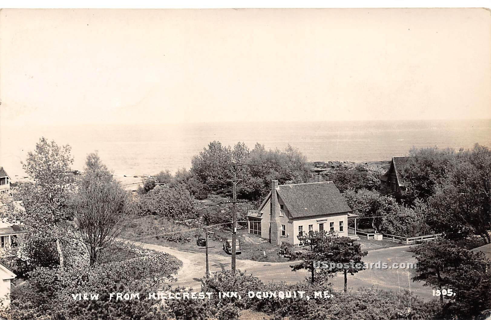 Hillcrest Inn - Ogunquit, Maine ME Postcard