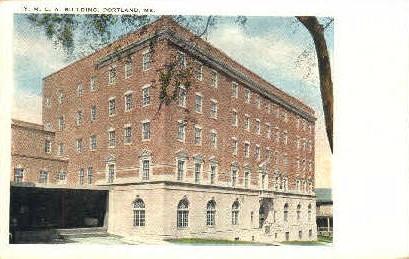 Y.M.C.A. Building - Portland, Maine ME Postcard