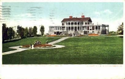 Casino & Grounds, Cape Cottage - Portland, Maine ME Postcard