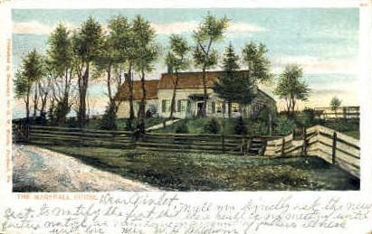 The Marshall House - Portland, Maine ME Postcard