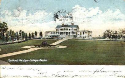 Cape Cottage Casino - Portland, Maine ME Postcard