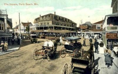 The Square - Portland, Maine ME Postcard