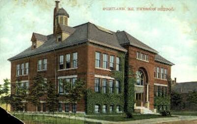 Emerson School - Portland, Maine ME Postcard