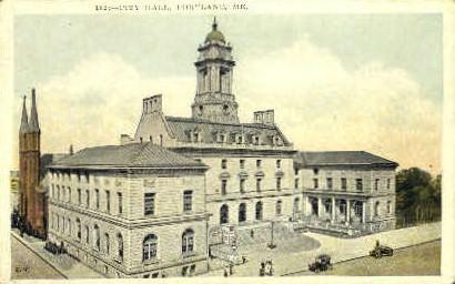 City Hall - Portland, Maine ME Postcard
