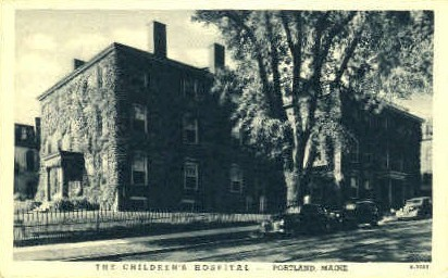 The Children's Hospital - Portland, Maine ME Postcard