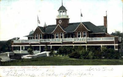 Casino, Riverton Park - Portland, Maine ME Postcard