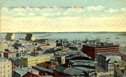 Fidelity Trust Building - Portland, Maine ME Postcard