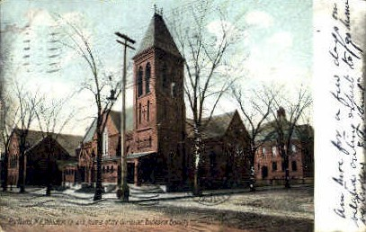 Williston Church - Portland, Maine ME Postcard
